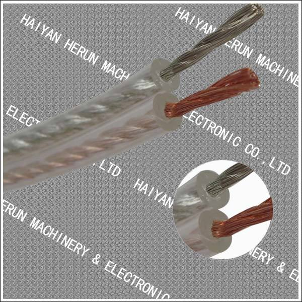 Clear Speaker Cable (HR-101) , Transparent Speaker Wire