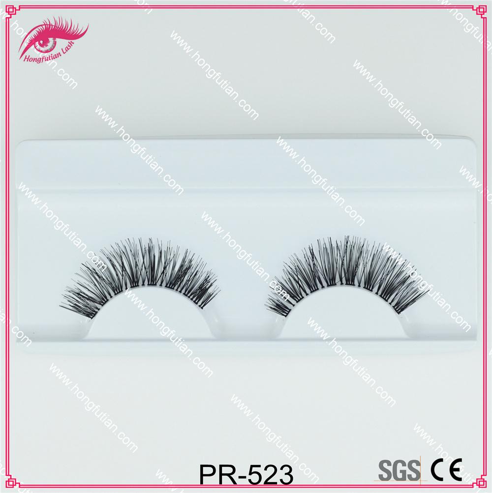 Beautiful Style Human Hair Eyelashes Wholesale