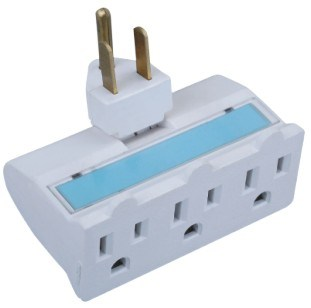 Wall Socket with Earth Socket (Double Color Socket)