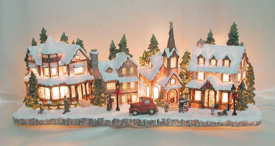 lights village house - photo #2