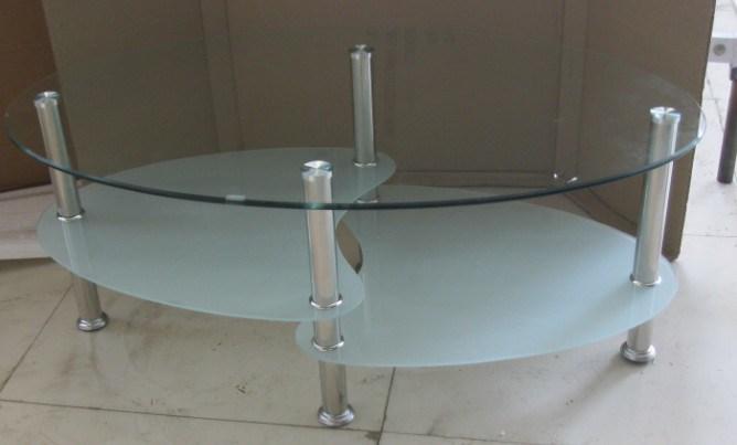 Mesa de centro del vidrio helado de la calidad de sonido - Centro nacional del vidrio ...