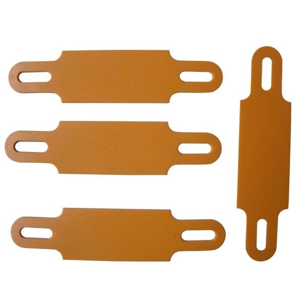 PVC Cable Marker Tag Orange