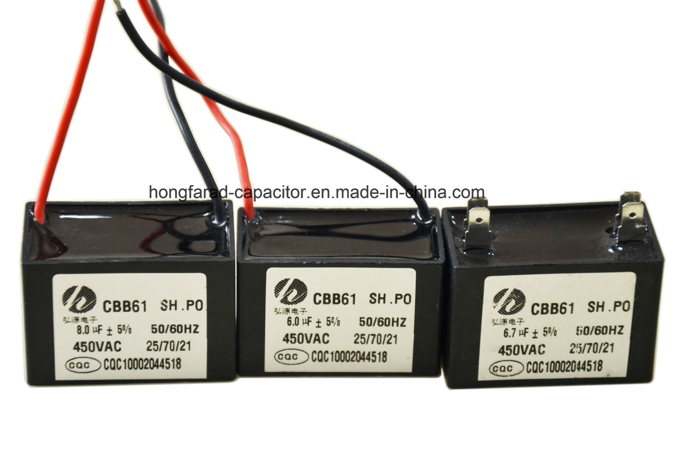 Good Quality M61 Cbb61 AC Motor Capacitor 470V, 50Hz 60Hz,
