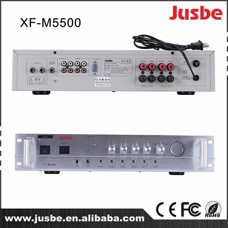 Xf-M5500 2.4G Class D Professional Power Audio Tube Amplifier