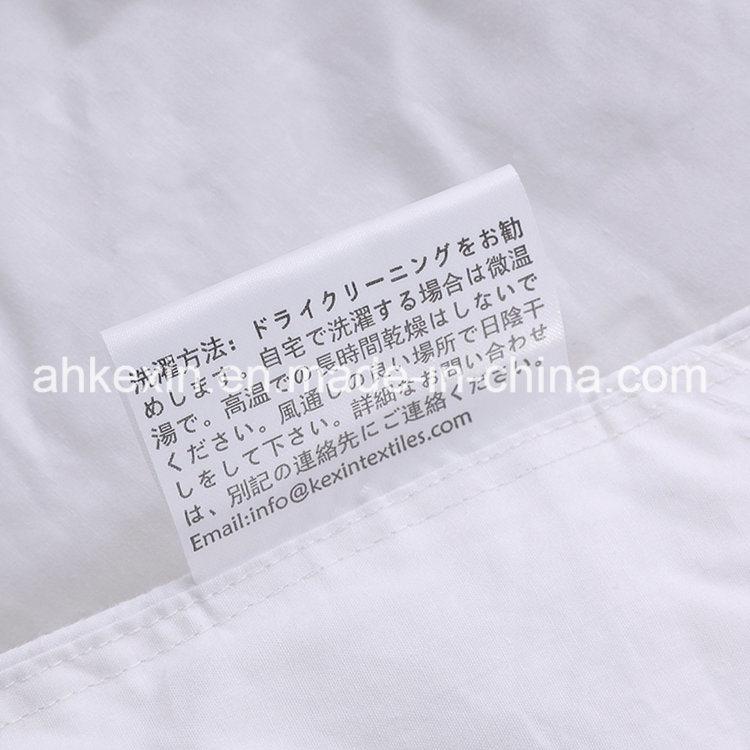 European Size Down-Like 350G/M Siliconized Fiber Comforter Set
