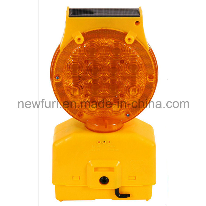 Traffic Blinker Solar Barricade Light LED Warning Light