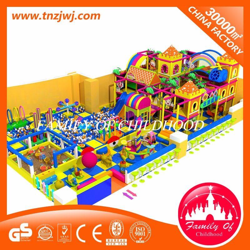 Luxury Amusement Maze Soft Equipment Indoor Playground with Ball Pool