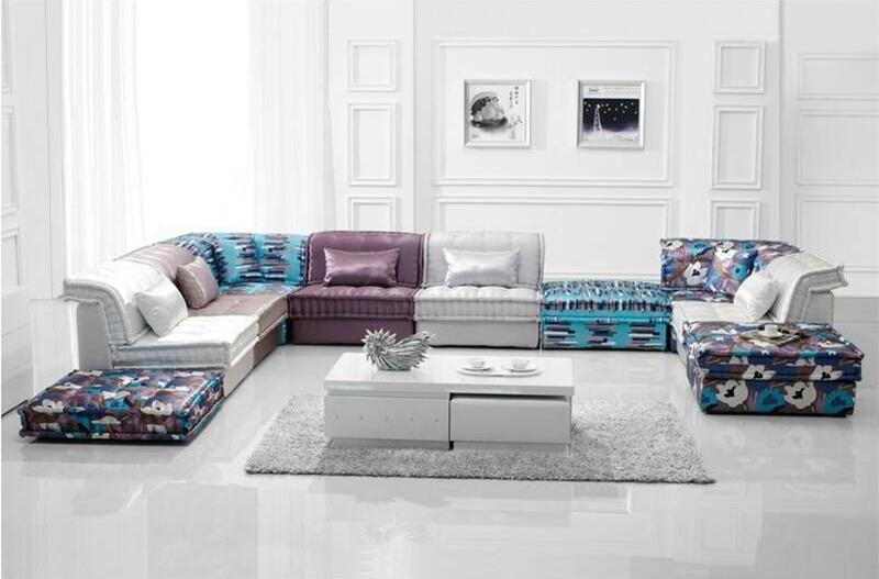 Classical Design Living Room Sectional Fabric Sofa (F895-1)