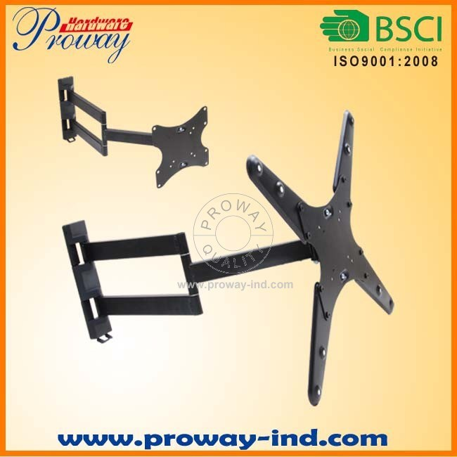 """Full Motion Wall Mount TV Bracket Vesa up to 400*400 Wall Bracket for Most 12""""-60"""" LED LCD Tvs"""