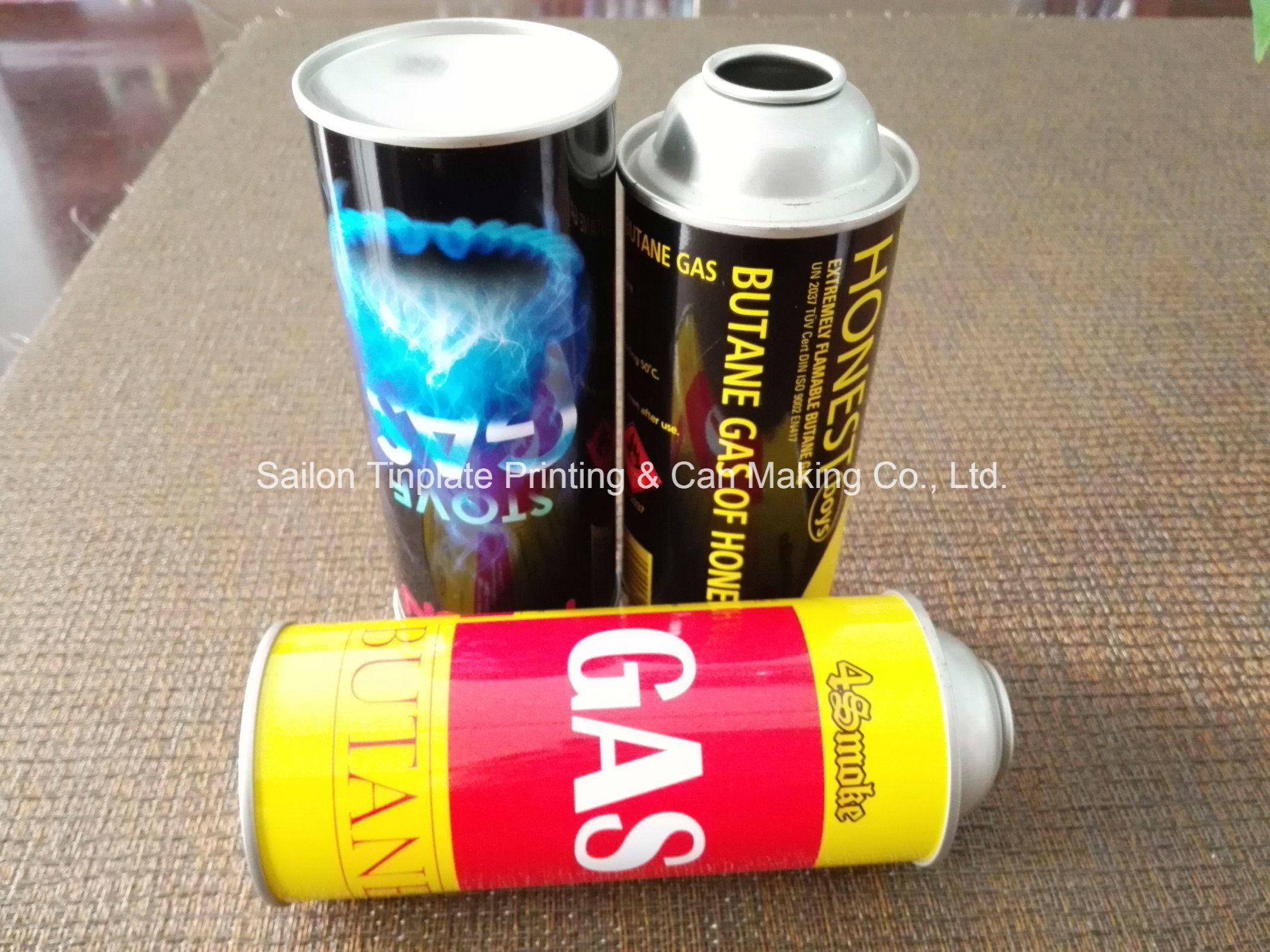 Portable Butane Gas Cartridge From Sailon China