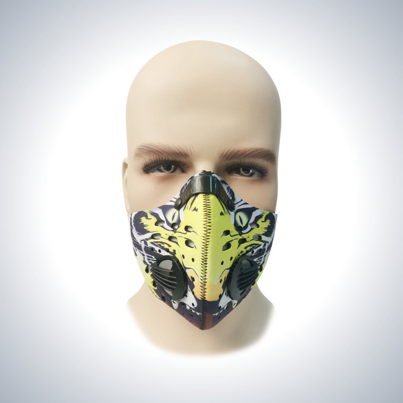 Active Carbon Filters Anti-Dust Sports Half Face Cycling Face Mask