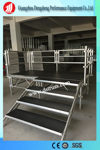 Factory Price Outdoor Compact Aluminum Assemble Stage Truss for Show