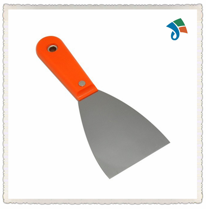 3′′ Painting Scraper with Clipped Plastic Handle Polished Putty Knife