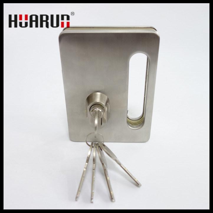 Zinc Alloy Glass Door Lock With Handle HR-1137/HR-1136: