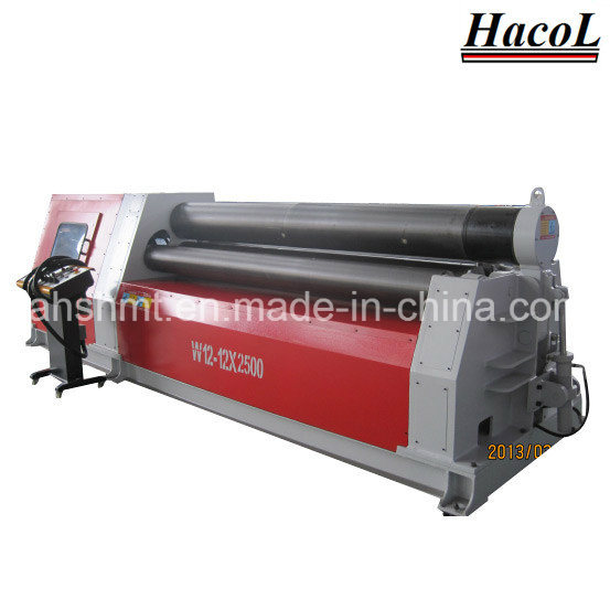 W12 Rolling Machine with Four Rollers /Fabrication Plate Bender in Best Performance