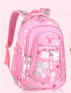 Pupli School Bag Fashion Floral Bag Children Shoulder School Bag Yf-Sb1630