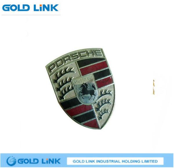 Enamel Metal Lapel Pin Custom Badge Shield Breast Plate