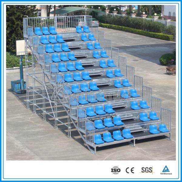 Aluminum Portable Bleachers Stadium Seats Movable Bleachers