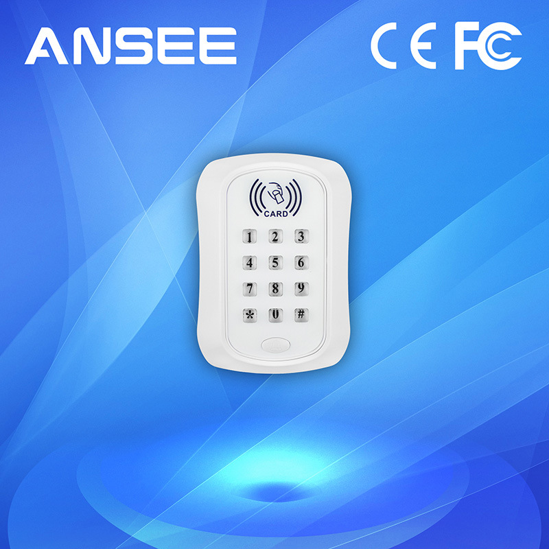 Wireless RFID Card Reader with Keyboard, 50 ID Capacity