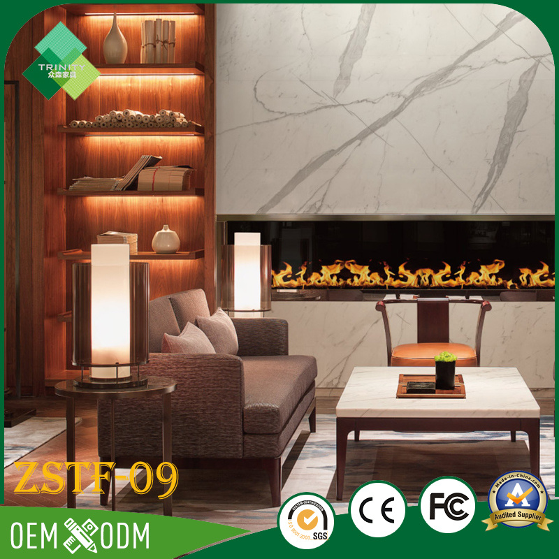 Hot Sell Luxury Style Bedroom Set of Hotel Furniture (ZSTF-09)