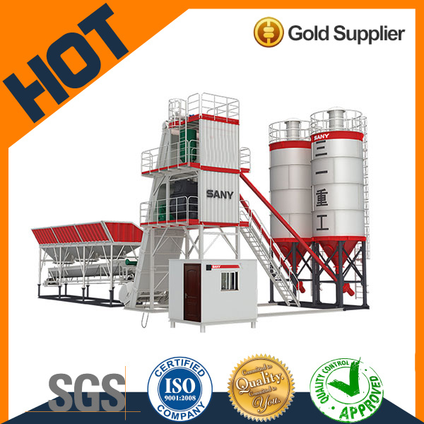 High Quality Sany Mobile Concrete Batching Plant for Best Price