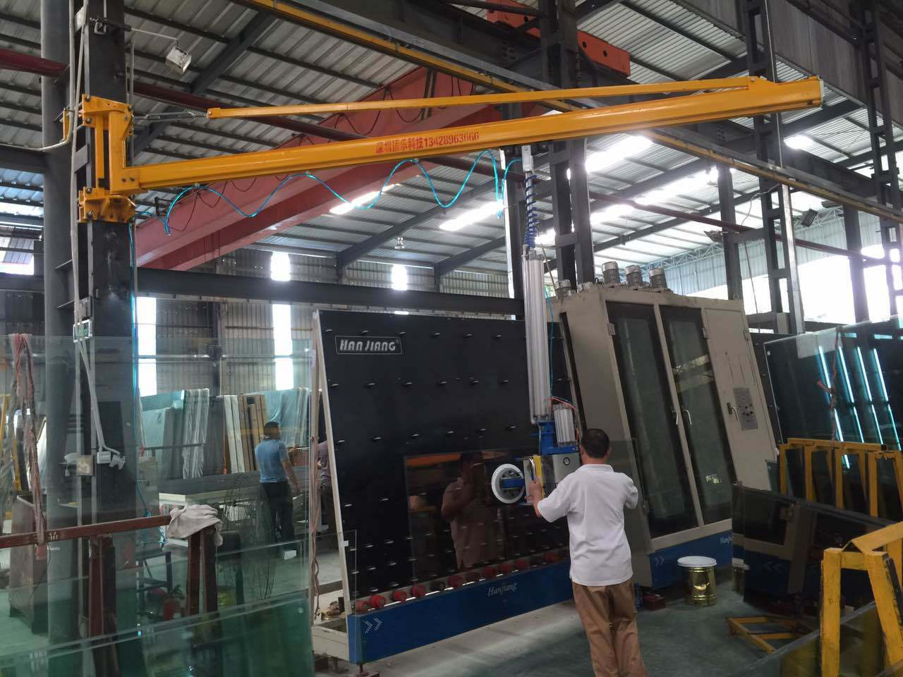 450kg Glass Lifting Equipment Glass Crane Glass Suction
