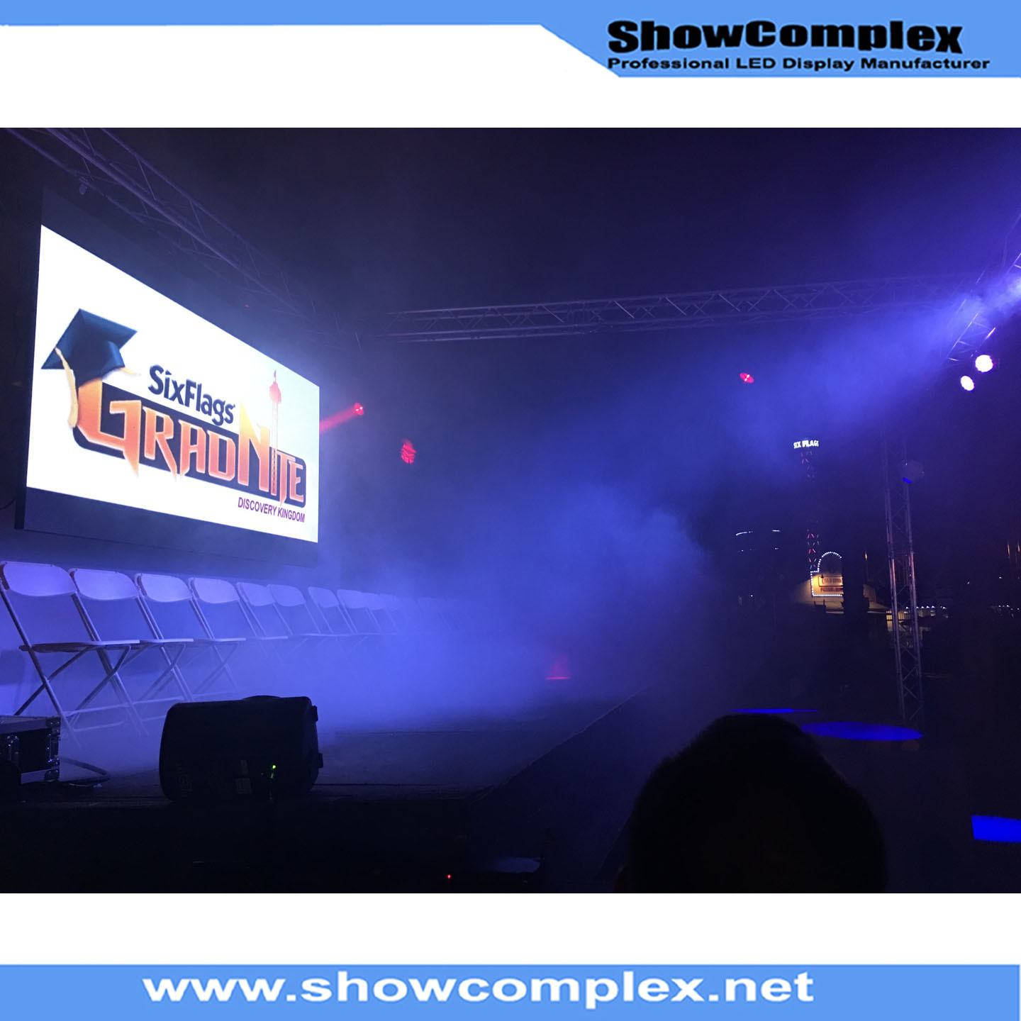 High Refresh Rate of SMD Indoor Full Color Rental LED Wall (500mm*500mm pH2.97/pH3.91)