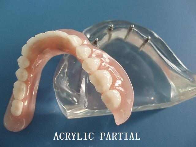 Good Biocomputilily Natural and Beautiful Acrylic Resin Denture