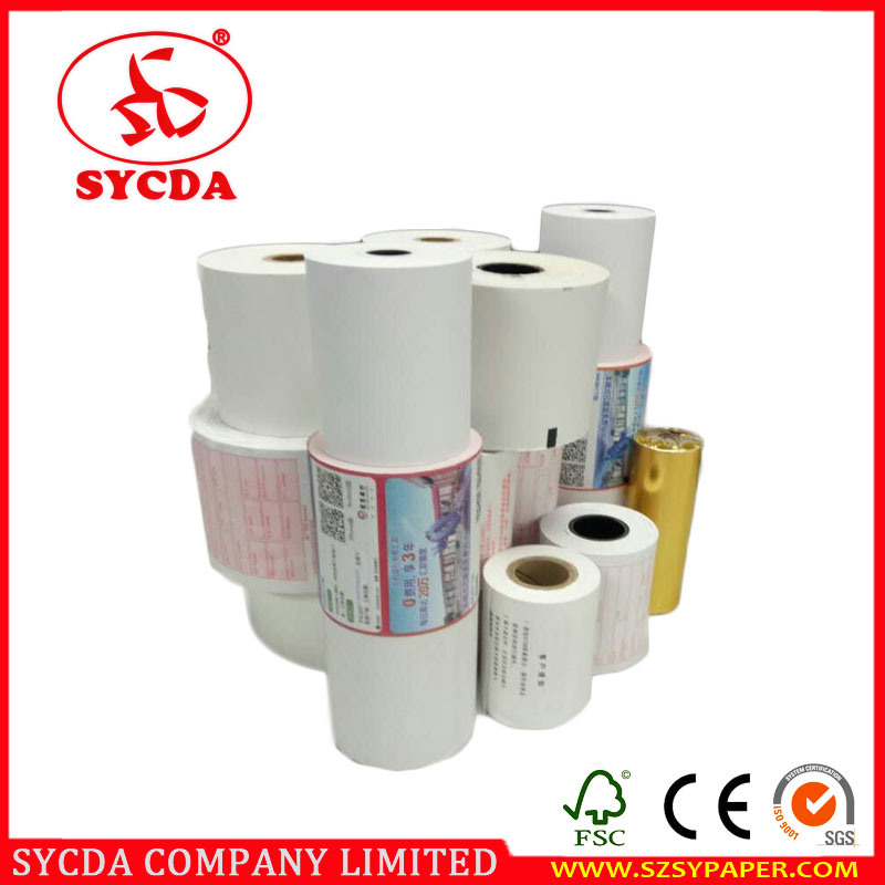 Smoothly Cut Factory Economic Wood Pulp Price Receipt Paper Roll