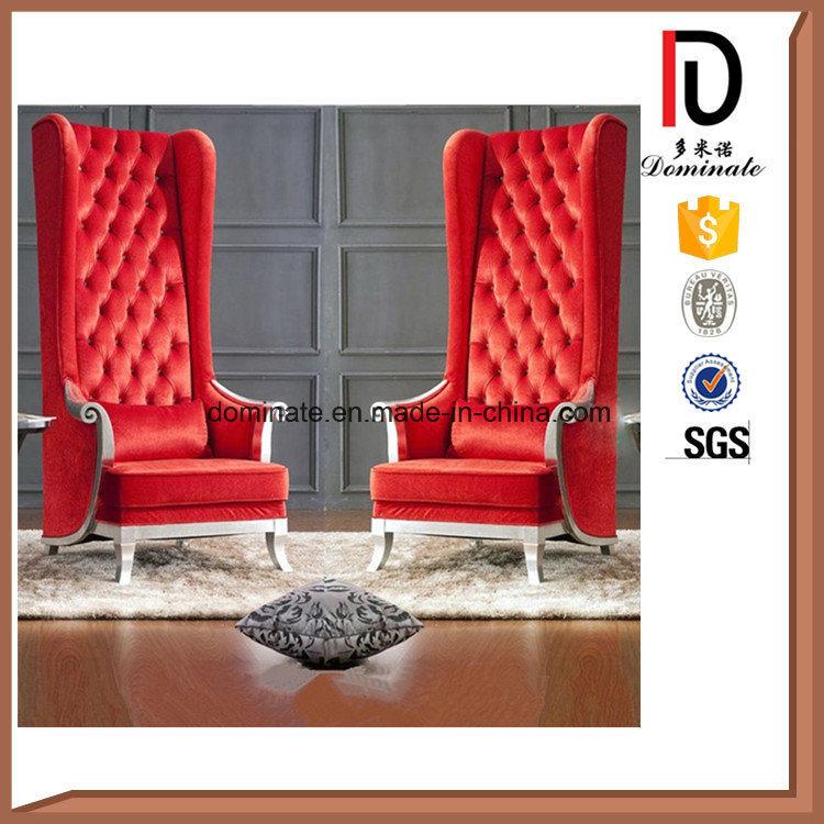 Modern High Back Wing Chair Royal Chair
