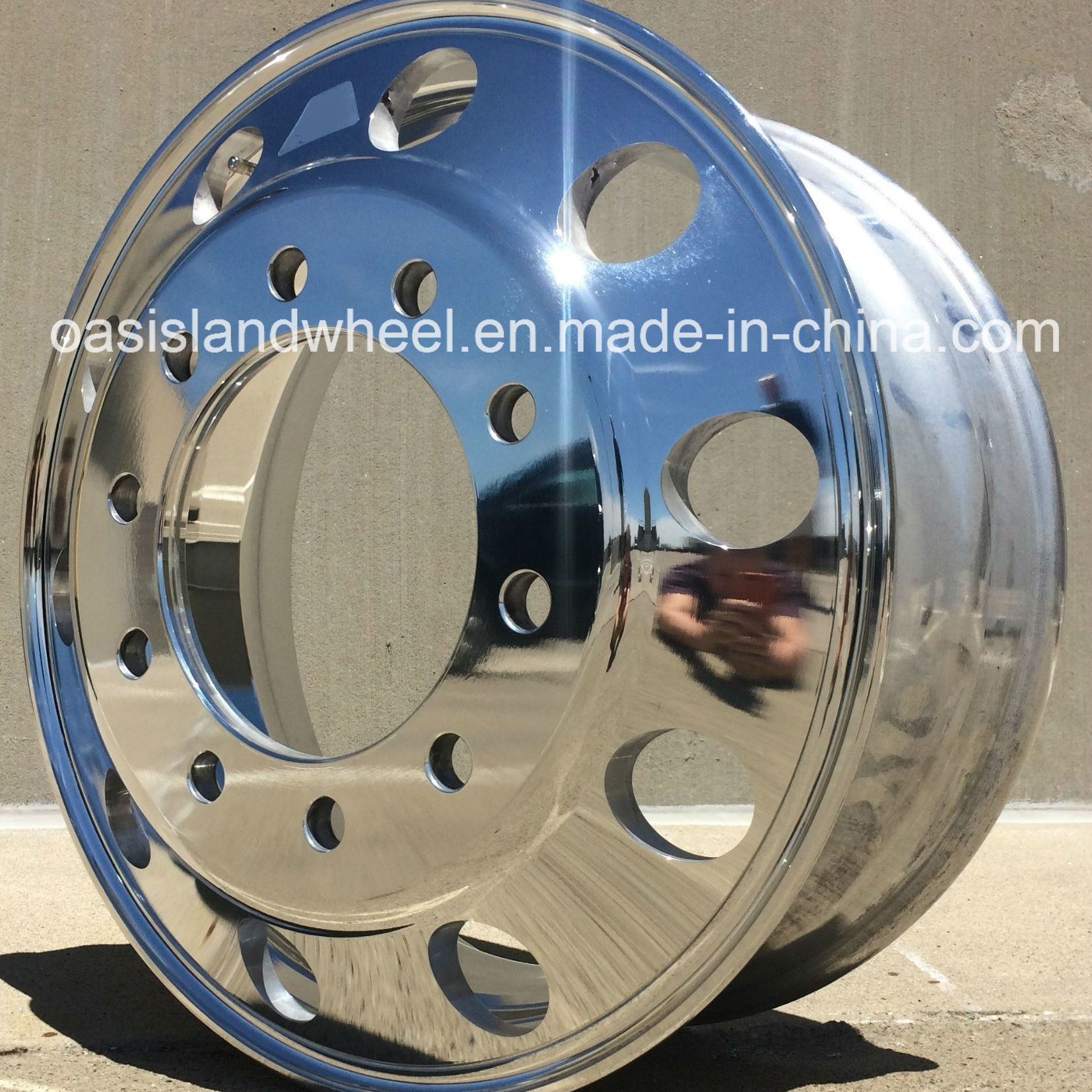 22.5 Aluminum Truck Wheel for 11r22.5 and 12r22.5