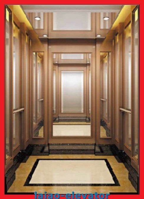 Machine Roomless Passenger Elevator Lift with 1~2m/S