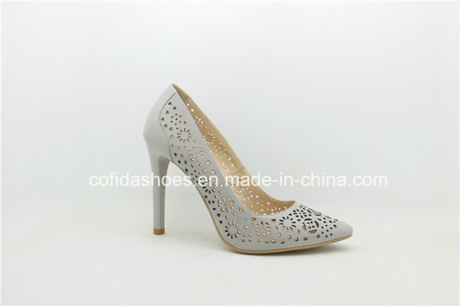 Elegant Hand-Made Sexy High Heels Leather Women Shoes