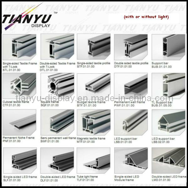 Aluminum Extrusion Exhibition Booth Material
