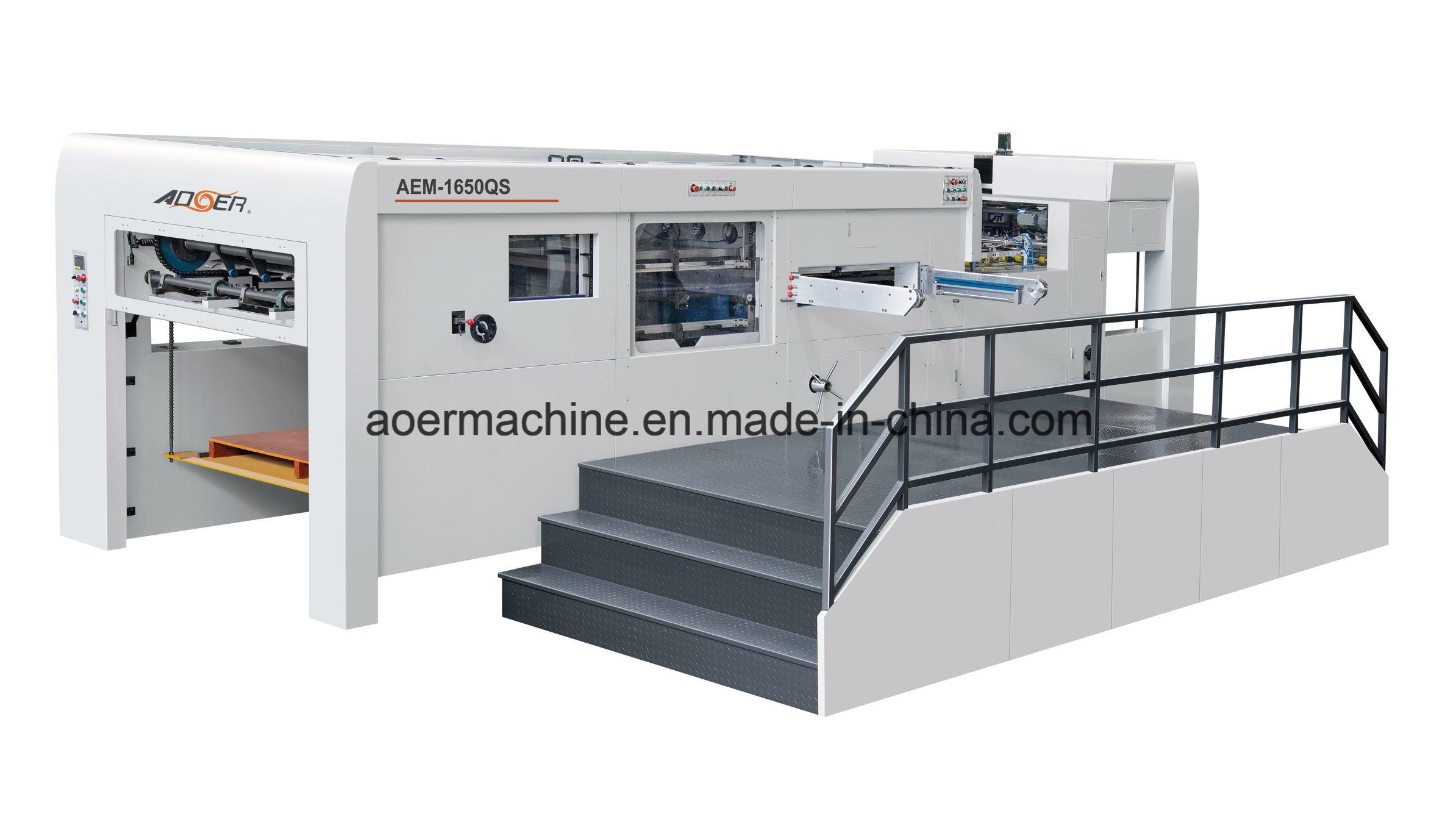 AEM-1650S Manual Automatic Dual Purpose Die Cutting Machine