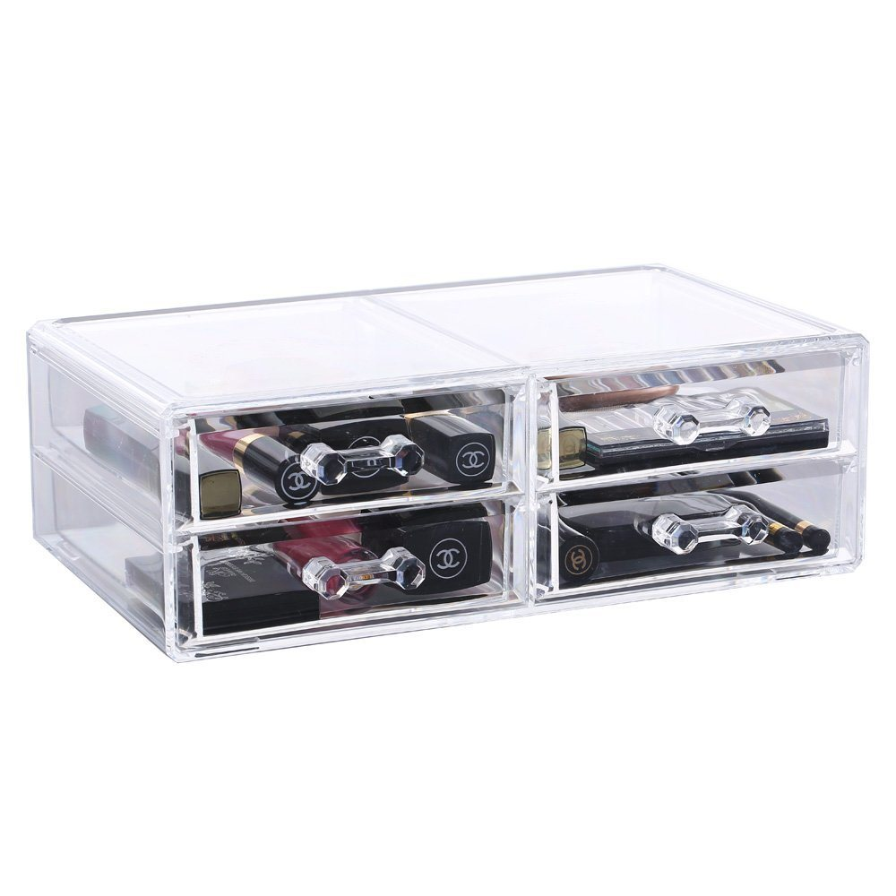 Acrylic Jewelry Case, Cosmetic Storage Display, Acrylic Boxes