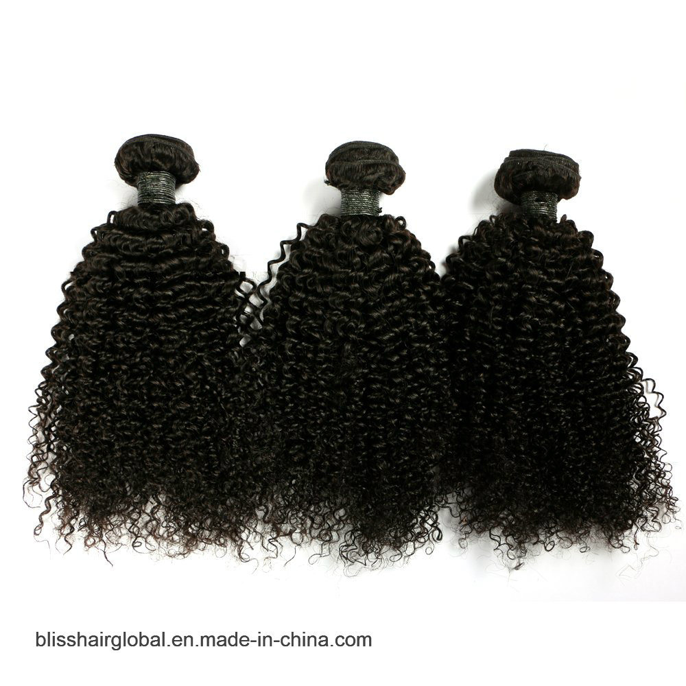 "Bliss Brazilian Plus Baby Deep 10""-30"" Hot Sale Raw Unprocessed Virgin Brazilian Kinky Curly Hair"