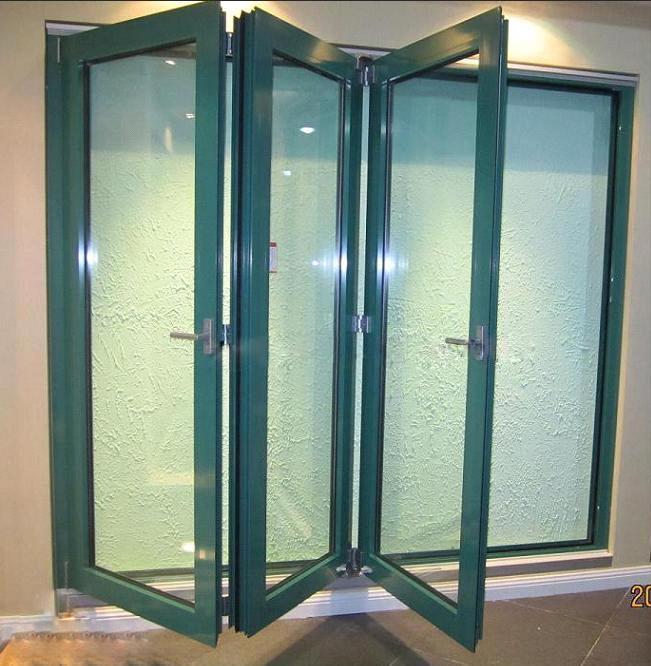 High Grade Quality Kommerling PVC Bi-Folding Door (BHP-AD03)