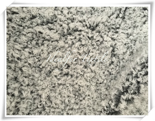 Funny Curly Lamb Faux Fur for Garment