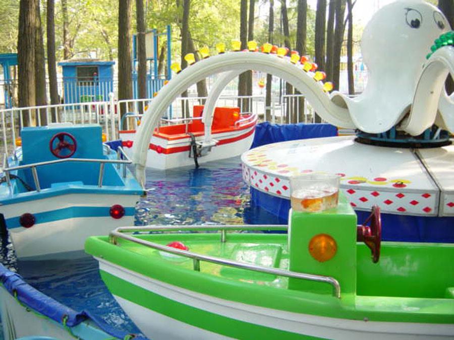 Mini Octopus - Kiddie Amusement Equipment