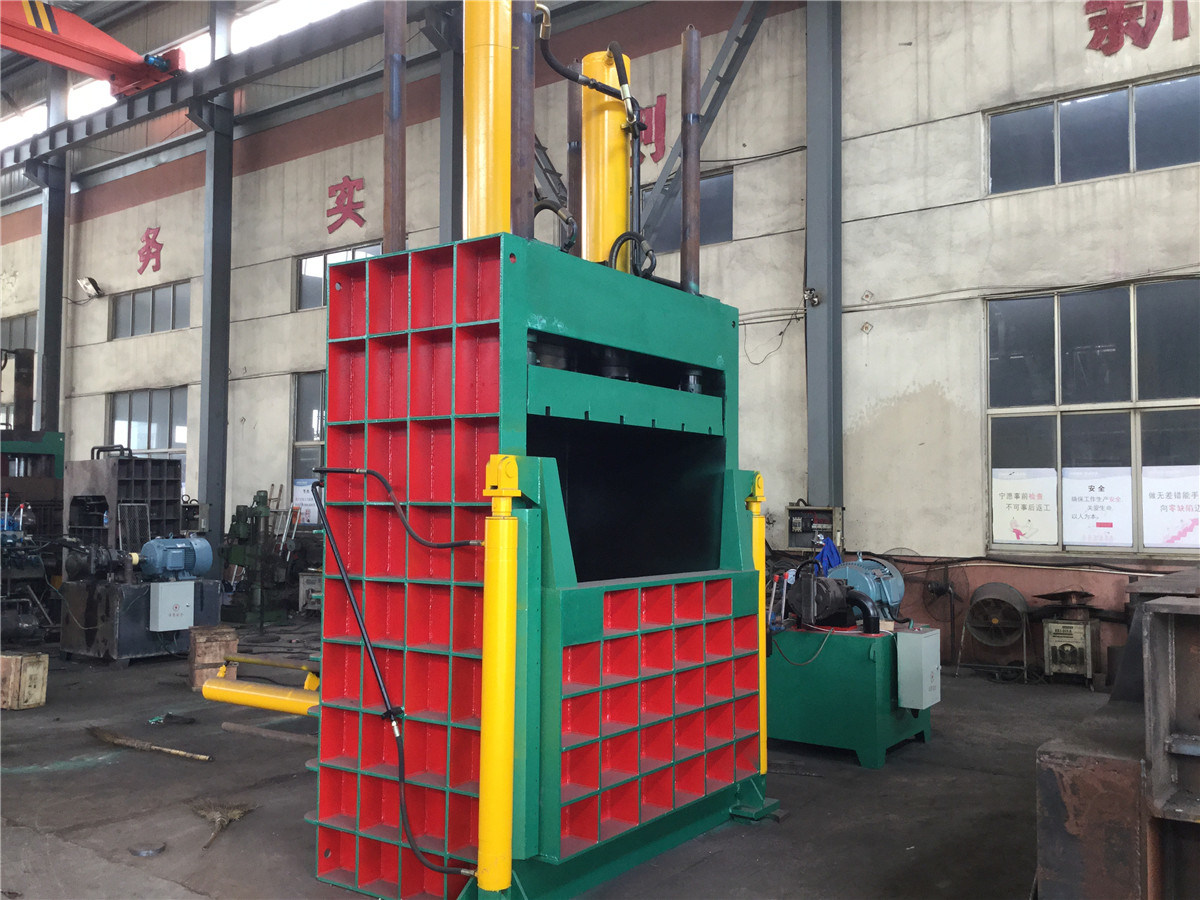 Y82-400 Hydraulic Vertical Baler Machine