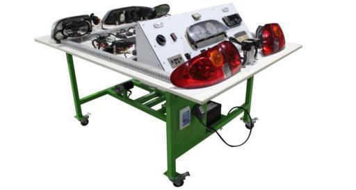 Automotive Bodywork Electrical System Training Equipment (comprehensive)