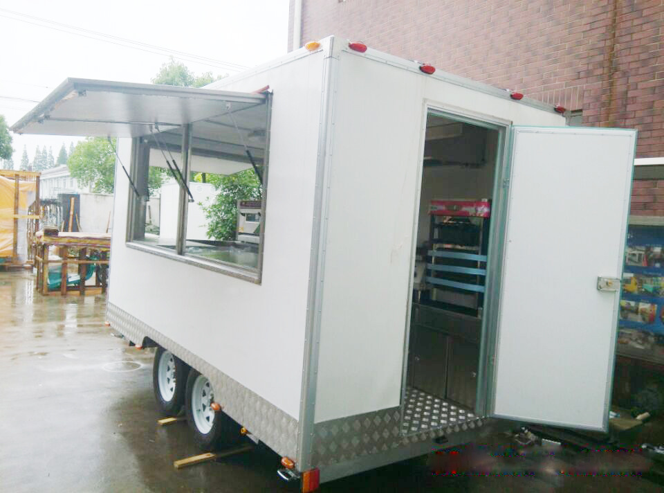 Custom Suppling Mobile Electric Food Catering Car Truck Trailer