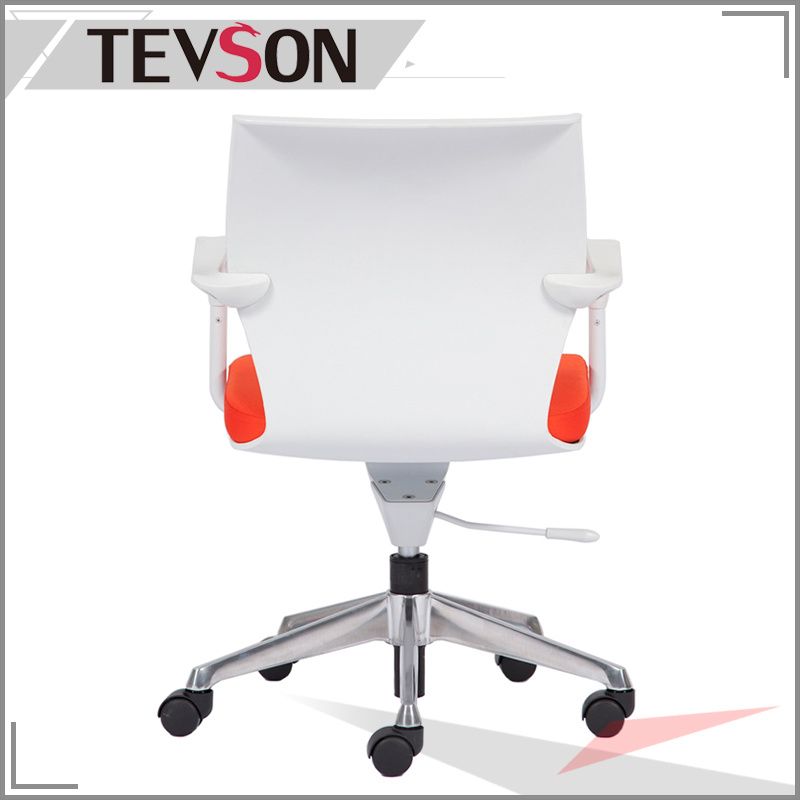 Classical Swivel Aluminium Base Manager Office Chair (DHS-PU21)