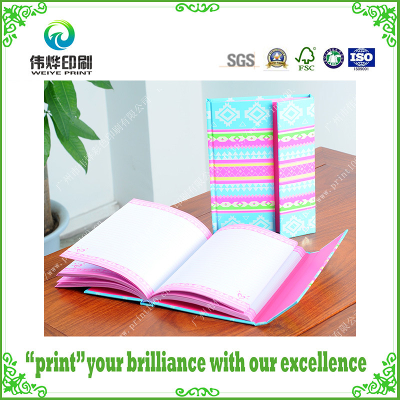 Colorful Latest Hardcover Printing Notebook/Stationery