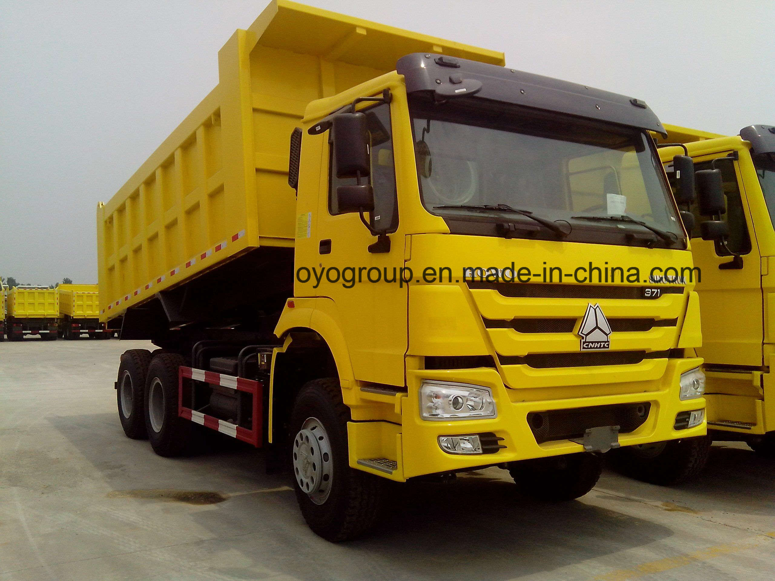 HOWO 371HP 6X4 Tipper Dump Truck for Sale