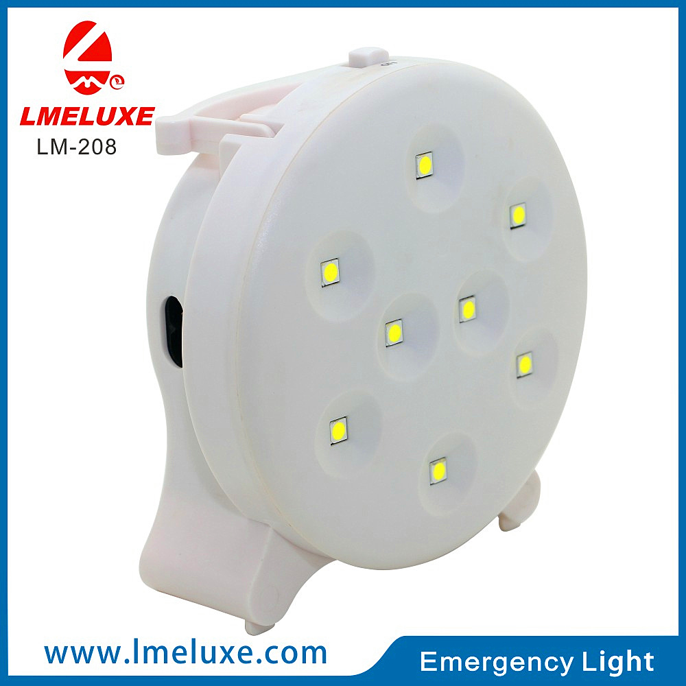8 PCS Rechargeable Emergency SMD Table LED Lighting