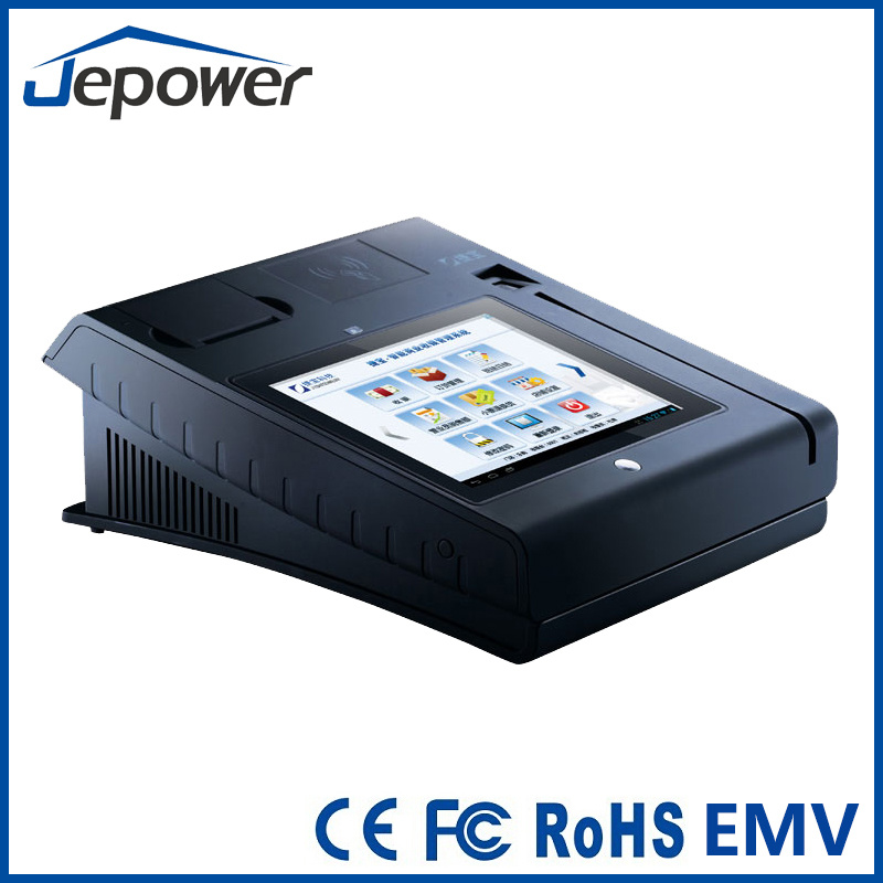 Jepower T508 10 Inch All in One Touch Screen POS Cash Register with Printer
