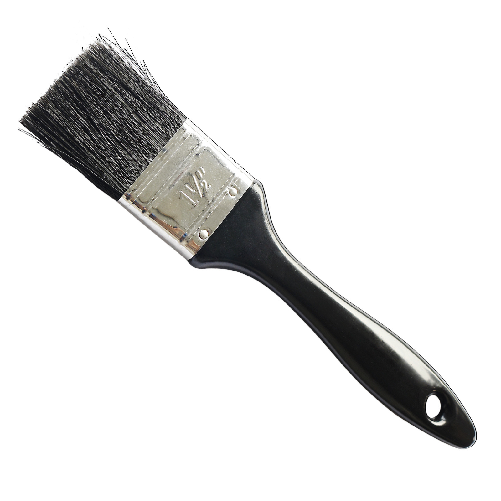 Painting Tools 38mm Paint Brush with Natural Pure Bristle and Plastic Handle