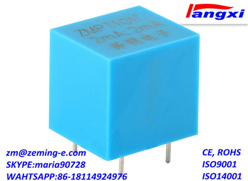 Zmpt101 2mA/2mA PCB Mounting Current-Type Voltage Transformer 19 (L) *17 (W) *18.3 (H) High Temperature Resistant